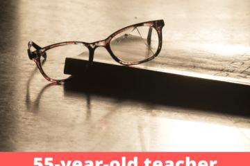 55-year-old teacher